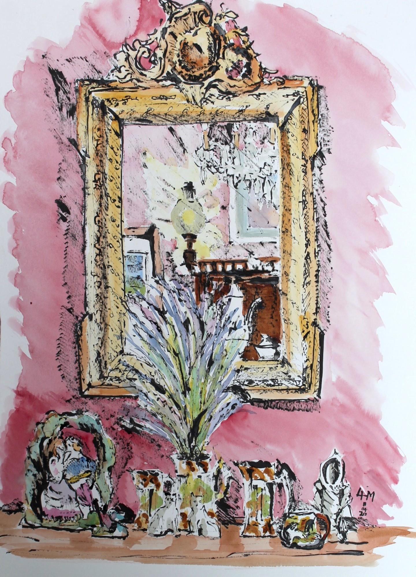 Linda H Matthews - Ancien Miroir