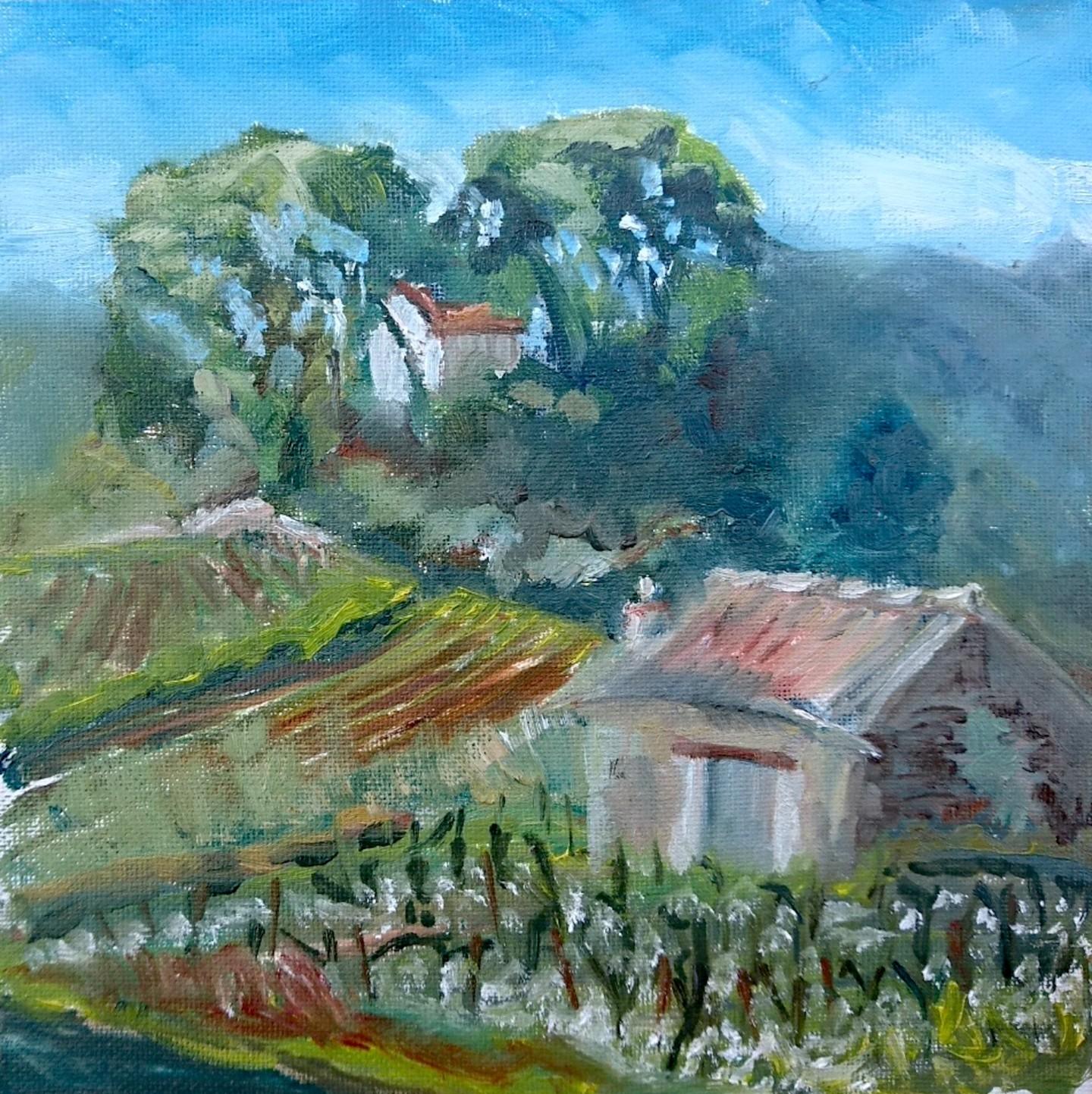 Linda H Matthews - Le Ancien de Grezan à Fouzilhan