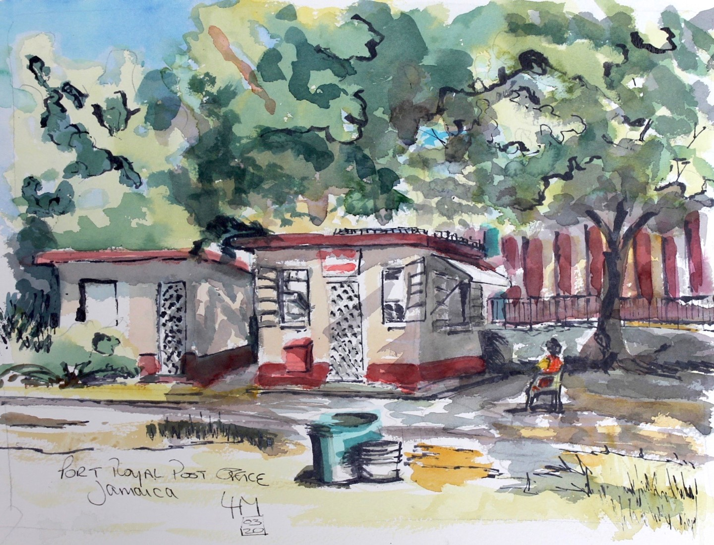 Linda H Matthews - La Poste - Port Royal Jamaica