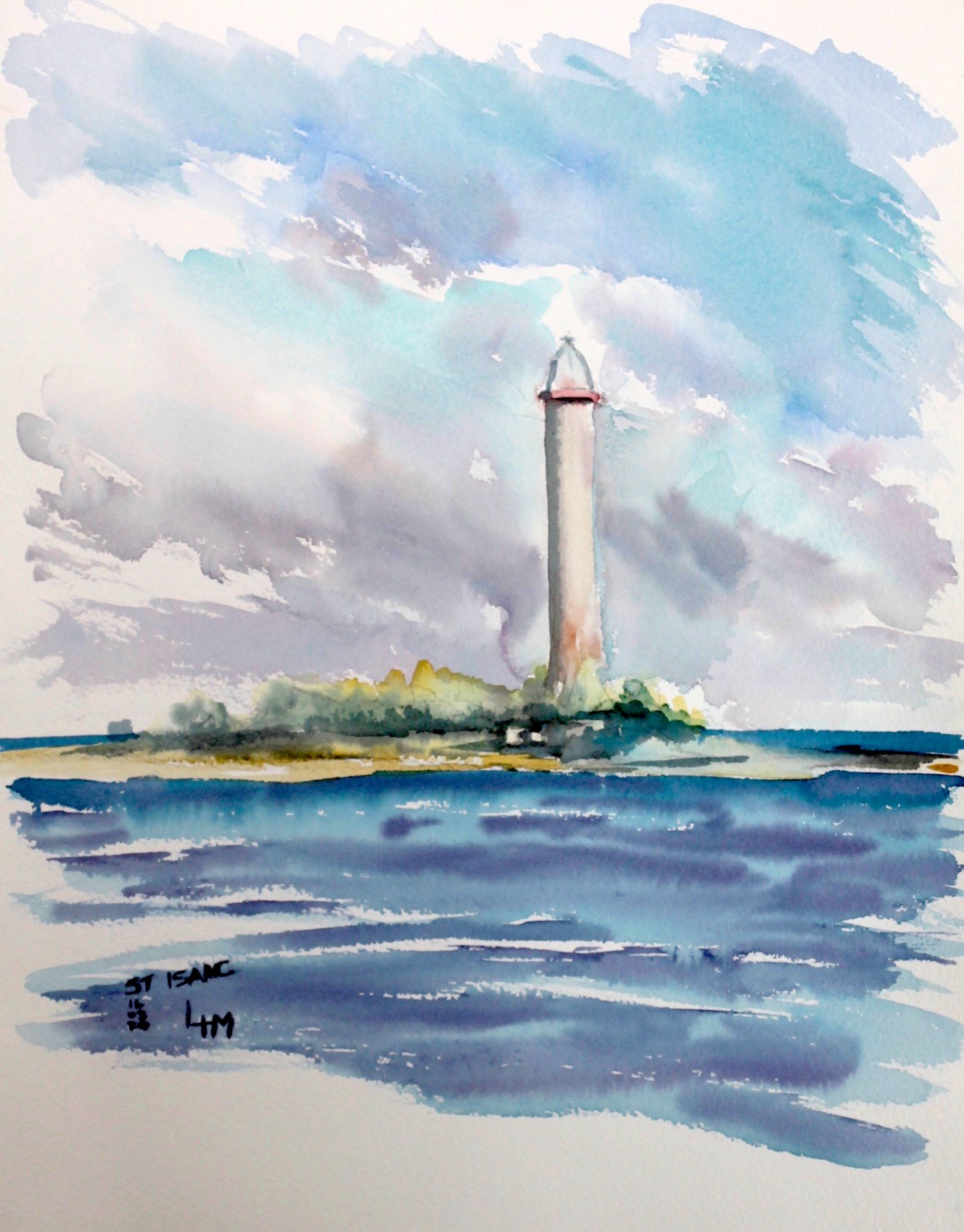 Linda H Matthews - Great Issac Cay - Bahamas