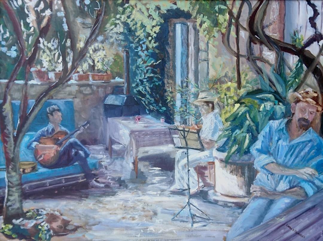 Linda H Matthews - Jardin Inspirée - Azille