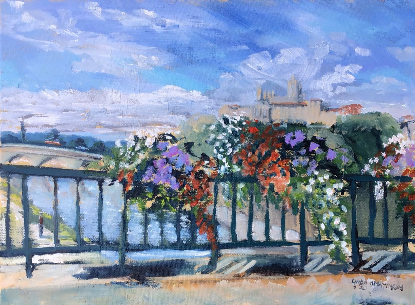 Linda H Matthews - Cathedrale St. Nazaire, Beziers