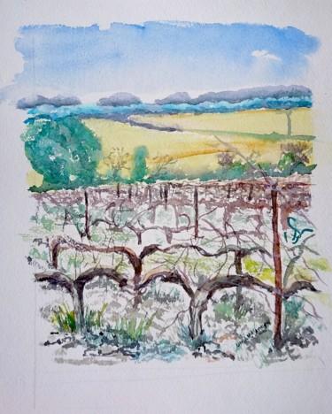 Les Vignes d'hiver, Autignac